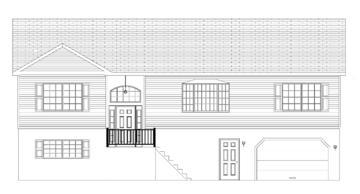 Patapsco split foyers custom modular direct for Split foyer modular homes