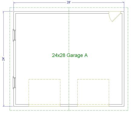 24 39 X 28 39 Two Car Garage A Modular Garages Custom