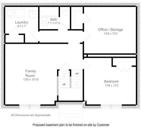 Proposed Basement Plan