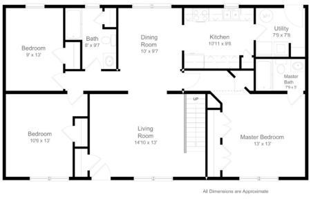 Standard Floorplan